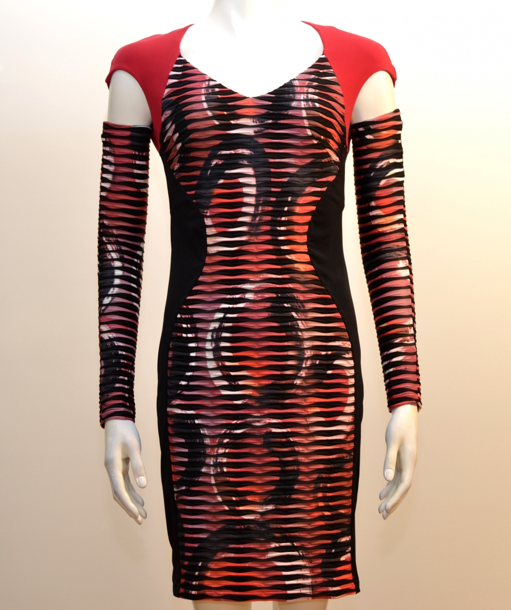 robe eroke abd99 multicolore eroke v tements de marque. Black Bedroom Furniture Sets. Home Design Ideas